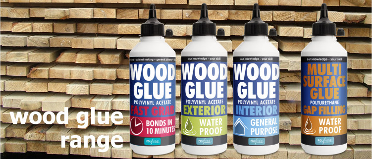 wood glue range