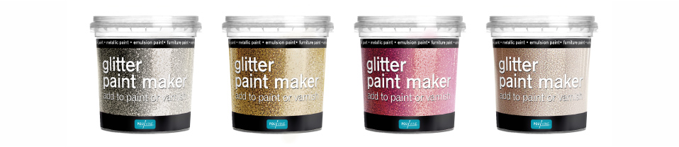 new glitter paint maker