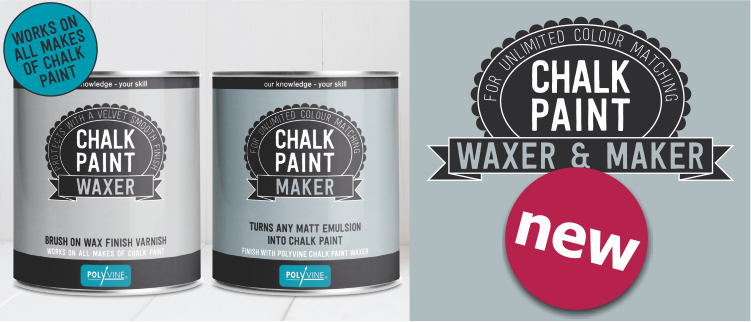 polyvine chalk paint maker and waxer