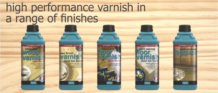 polyvine varnish range