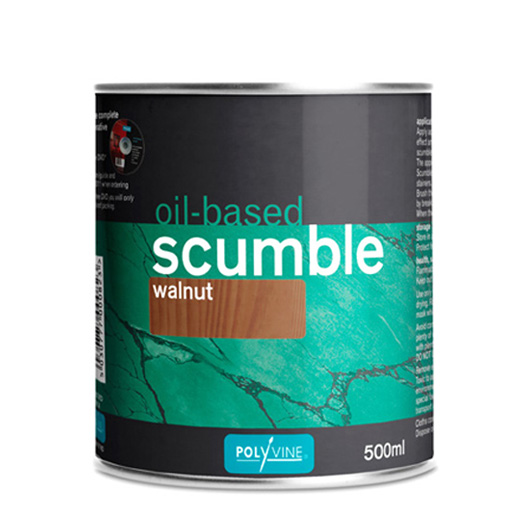 polyvine oil-based scumble pre-coloured